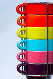 Cups. Colorful coffee cups in detail Royalty Free Stock Photo