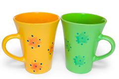 Cups Royalty Free Stock Photography