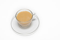 Cups #9. Cup of Cream Coffee royalty free stock photography