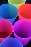 Cups. Colorful drinking cups Royalty Free Stock Photo