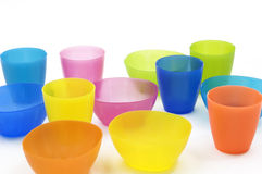 Cups And Dish Royalty Free Stock Photography