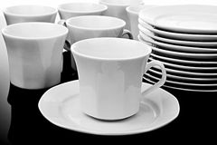 Cups And Saucers Stock Image
