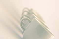 Cups background Royalty Free Stock Photography