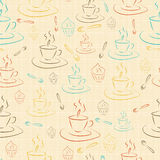 Cups and cakes Royalty Free Stock Photo