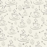 Cups and cakes Stock Photo