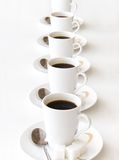 Cups of coffe Stock Photo