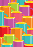 Cups of coffee Royalty Free Stock Photo