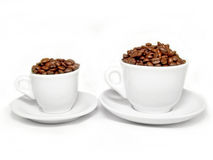 Cups coffee Stock Photo