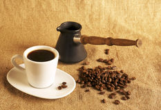Cups of coffee Stock Photography