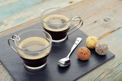 Cups of coffee Royalty Free Stock Image