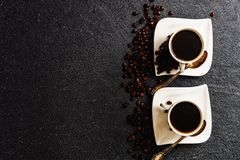 Cups of coffee Royalty Free Stock Photos