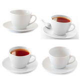 Cups collage Royalty Free Stock Images