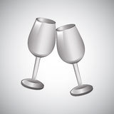 Cups design Royalty Free Stock Photography