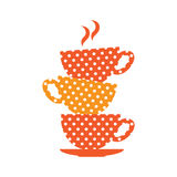 Cups design Stock Photography