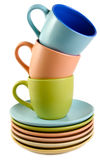 Cups and dishes Royalty Free Stock Photography