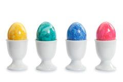 cups easter ägg arkivbilder