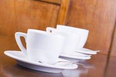 cups espresso Royaltyfri Foto