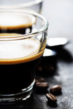 Cups of Espresso Royalty Free Stock Image
