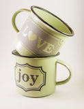 Love joy cup Stock Image