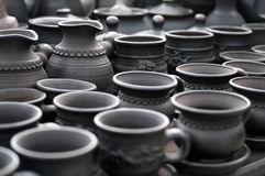 Cups and jugs Royalty Free Stock Image