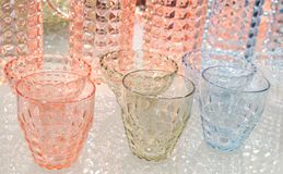 Cups and jugs Royalty Free Stock Photos