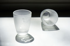 Cups of liquor Royalty Free Stock Photography