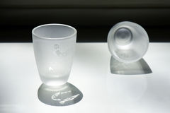 Cups of liquor Royalty Free Stock Images