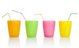 cups plast- Arkivbilder