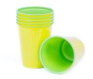 cups plast- Royaltyfri Bild