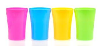 cups plast- Arkivbild