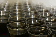 Cups. Rims of cups Stock Photography