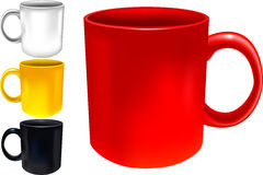 Cups set Royalty Free Stock Photos