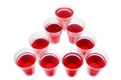 Cups of Soft Drink Stock Images