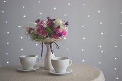 cups tabell två Arkivfoton