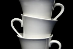 cups tea Royaltyfria Foton