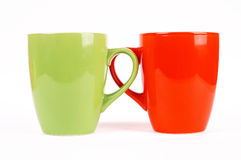 Cups for tea Royalty Free Stock Photos