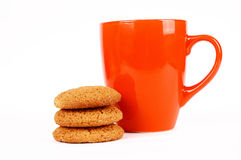 cups tea Arkivfoton