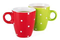 Cups of tea Stock Image