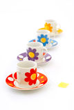 Cups of tea Royalty Free Stock Photos