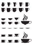 cups tea stock illustrationer