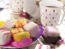 Cups of tea Stock Photos