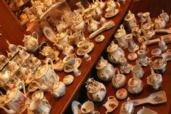 cups tea Royaltyfri Fotografi