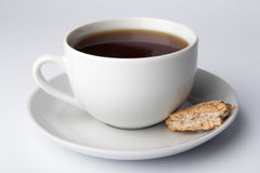 Cups for tea and coffee Stock Photos
