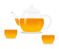 Cups of tea Royalty Free Stock Photography