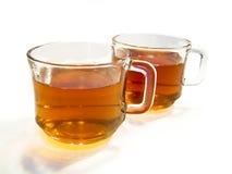 cups tea två Arkivbilder
