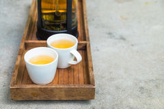 Cups of tea Stock Photography