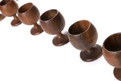 cups trä Arkivbilder