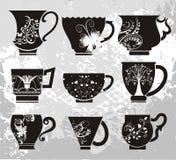 cups vektorn Arkivfoto