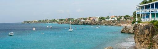 Curaçao-Aussicht Lizenzfreie Stockbilder