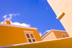 Curaçao Roof Oberseiten Lizenzfreies Stockfoto